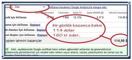google adsense Ayda 1000 TL Kazanç Fırsatını Kaçırmayın