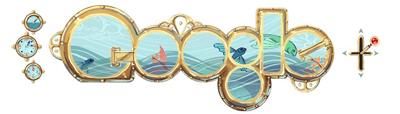 google Google'ın yeni logosu Jule Verne'i görmelisiniz !