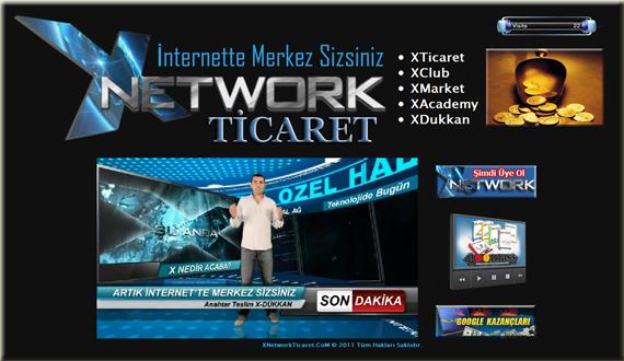 xnetworkticaret site XNetworkTicaret.CoM açılışını yaptı gördünüz mü?